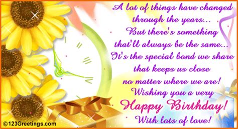 Happy Birthday Wishes For A Family Member To A Special Family Member Free Extended Family Ecards