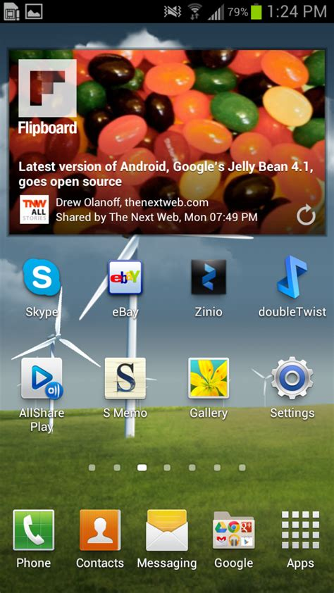 homescreen app widgets exle in android javatechig