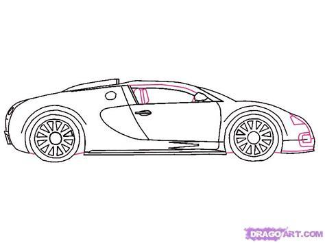 cartoon bugatti how to draw a 2010 bugatti veyron step by step cars