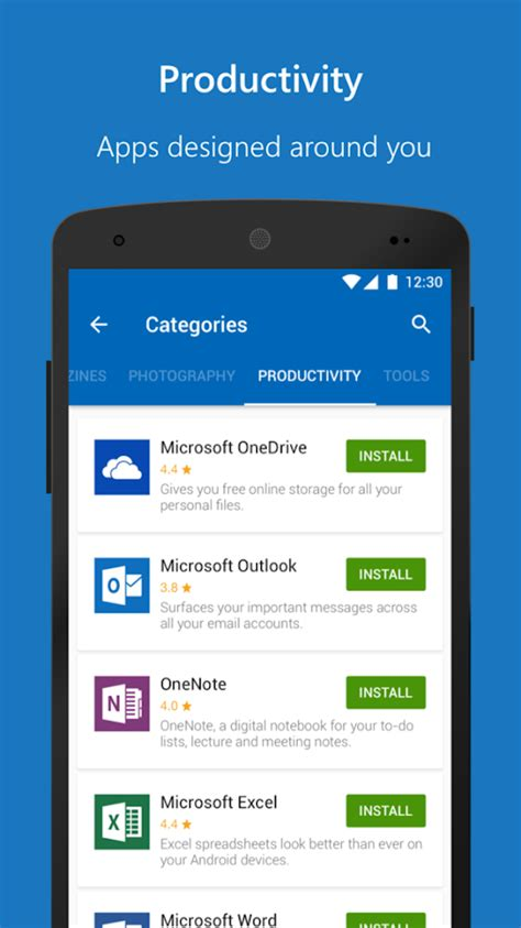 microsoft android apps microsoft apps android apps on play