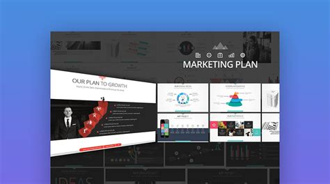 15 Marketing Powerpoint Templates Best Ppts To Present Your Plans Marketing Plan Presentation Template