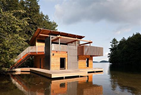 boat house photos muskoka boathouse by christopher simmonds architect wave