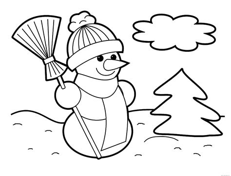 large snowman coloring page snowman free printable coloring pages
