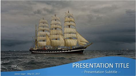 powerpoint themes ships free pirate ship powerpoint 36471 sagefox powerpoint