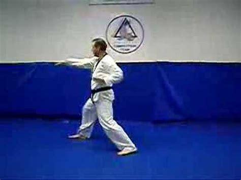 pattern chon ji youtube chon ji white belt form youtube