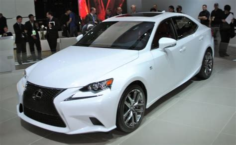 lexus hybrid sedan 2013 detroit 2014 lexus is sedan will get hybrid model f