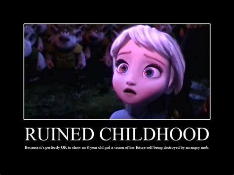 Ruined Childhood Meme - ruined childhood frozen ruined childhood know your meme