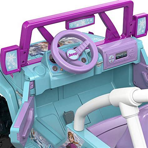 power wheels jeep frozen top 10 best girls power wheels reviews the cutest of 2018