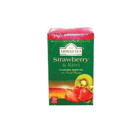 Ahmad Detox Tea Reviews by Teabag Alu Tb Strawberry And Kiwi Anjoman Food