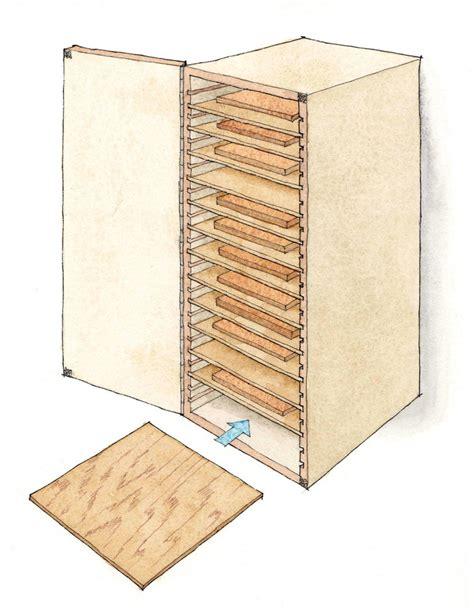 copy paper storage cabinet smart sandpaper storage finewoodworking