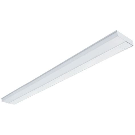 lithonia cabinet lighting lithonia lighting 42 in white t5 fluorescent cabinet light uc 42e 120 m6 the home depot