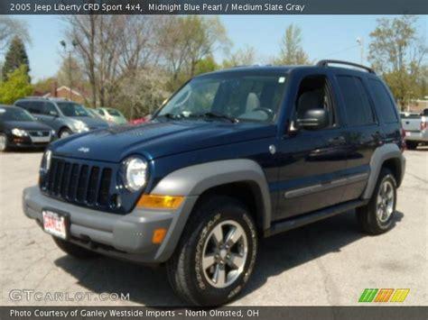 midnight blue jeep midnight blue pearl 2005 jeep liberty crd sport 4x4