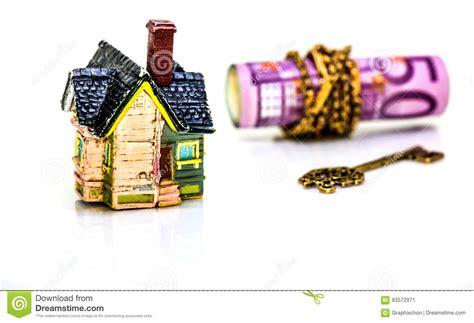 valuta casa valuta soldi e casa fotografia stock immagine
