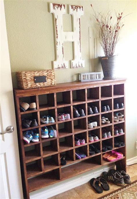 shoe cubby ideas  pinterest shoe cubby