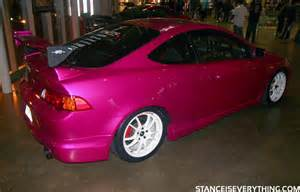 Pink Acura Event Coverage Importfest 2010 Pt 1 Stance Is Everything