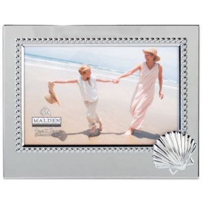 malden 4 quot x 6 quot starfish beaded buy malden 174 coastal collection 4 inch x 6 inch starfish picture frame from bed bath beyond