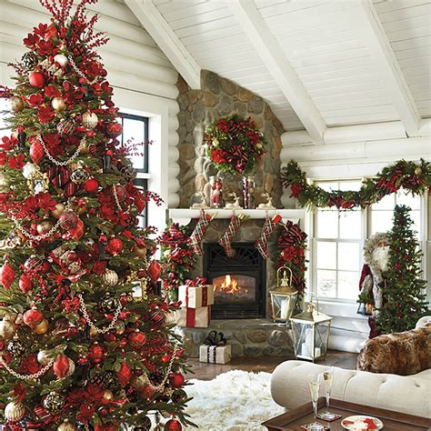 Home Decorated Christmas Trees 11 Christmas House Decorating Styles 70 Pics Decor Advisor
