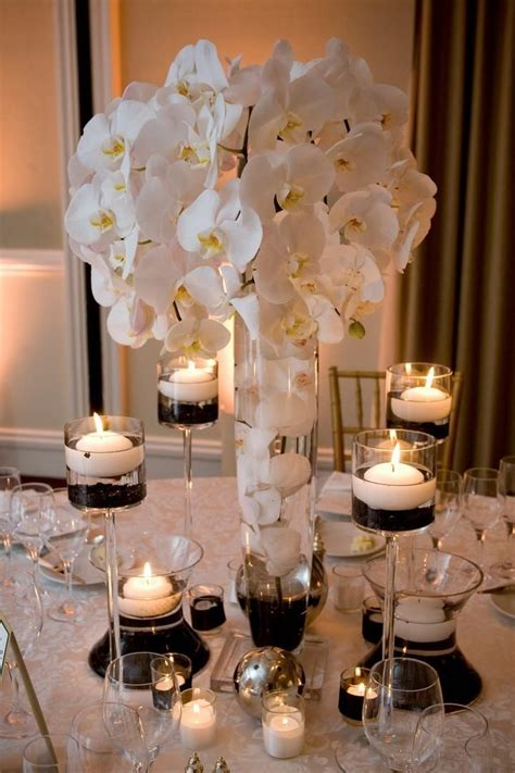 best 25 black and white centerpieces ideas on
