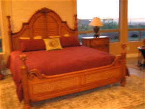 tropical island bedroom furniture mike and gwen dodge sold master bedroom set palm court