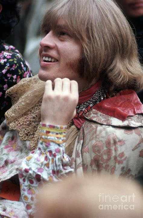 brian jones rolling stones founder smiling  monterey