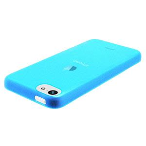Pinlo Iphone 5 Slice 3 Transparent Blue Packing Rusak pinlo slice 3 for iphone 5c blue transparent