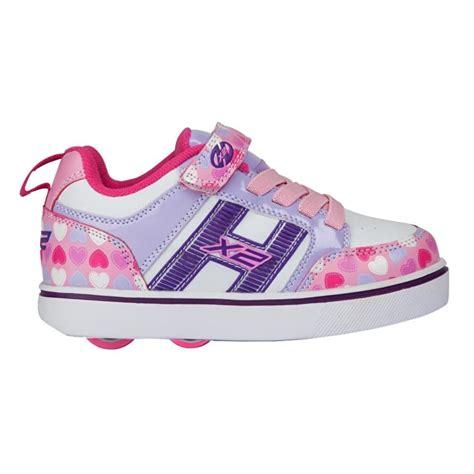 heelys light up shoes heelys x2 bolt plus light up light pink lilac hearts