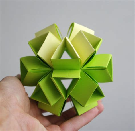 Origami Balls - origami paper in my from waveoflight