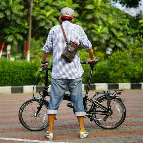 Tas Sepeda Handlebar Brompton Souma cycling bags tas sepeda