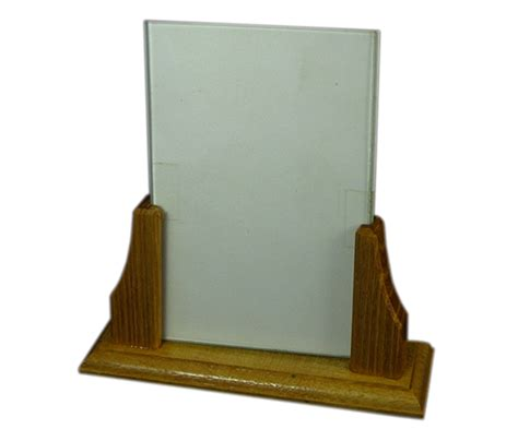 Handmade Wooden Picture Frames - handmade wooden picture frame with glass insert portrait