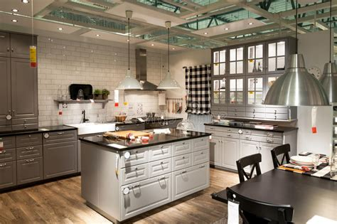 Kitchen Furniture Stores Kitchen In Furniture Store Ikea Editorial Image Image