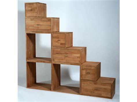 librerie con cassetti libreria bifacciale in legno con cassetti yen libreria