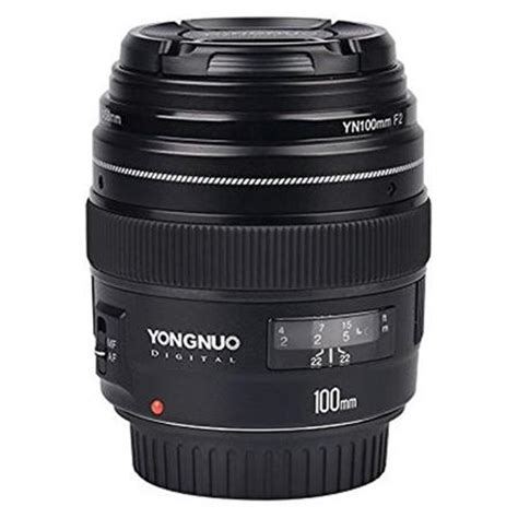 Lensa Yongnuo 100mm Yn100mm F2 For Dslr Canon yongnuo 100mm f2 0 lens for canon ef yn100mm ca