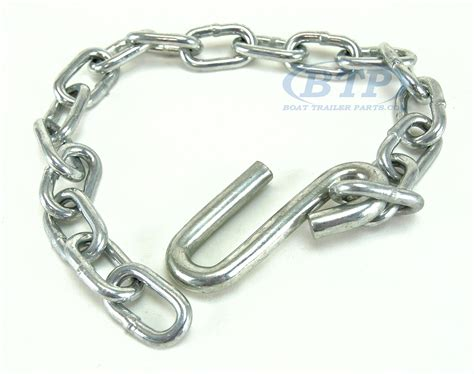 boat safety chain boat trailer safety chain zinc plated 1 4 quot thickness 27