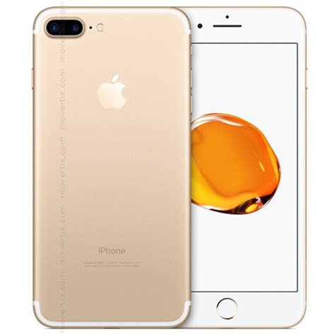 apple iphone 7 plus gold 32gb 0190198156808 movertix mobile phones shop