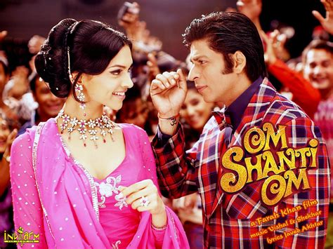 film bollywood om shanti om wallpapers deepika padukone shahrukh khan