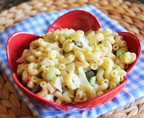 classic pasta salad classic macaroni salad