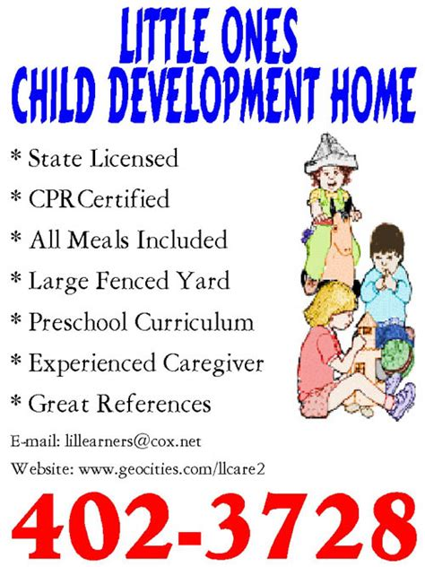 Daycare Advertising Exles by Child Care Flyer Sle 2017 2018 Best Cars Reviews