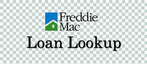 freddie mac loan lookup tool