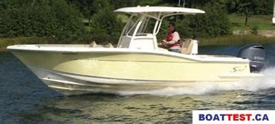 scout boats boat test 2009 scout 262xsf tested reviewed on boattest ca