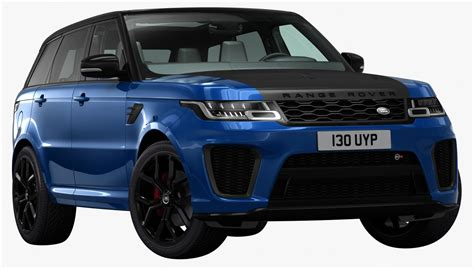 Land Rover 2018 Models by 3d Model 2018 Land Rover Range Turbosquid 1237426