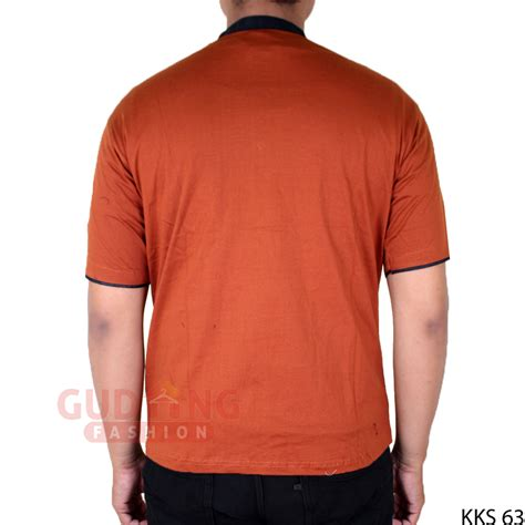 Baju Koko Hijau baju koko pendek pria modern katun hijau tua kks 66