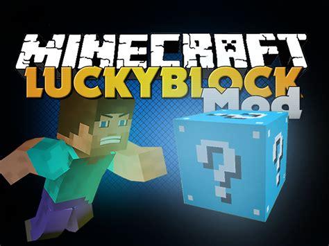 mod minecraft hack gamemode minecraft mod lucky block mod new blue lucky block