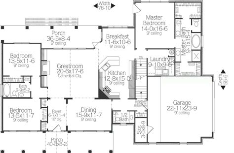 Ranch Floor Plans With Split Bedrooms What Makes A Split Bedroom Floor Plan Ideal The House