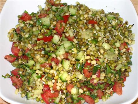 sprouted moong salad manjula s kitchen indian