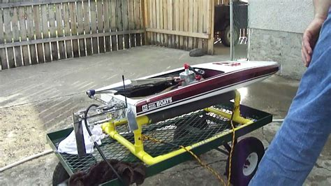 hot rod boats m c b racing hot rod rc boats ac s45 start up