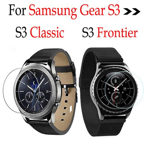 Tempered Glass Samsung Gear S3 Classic Frontier for samsung gear s3 smart wrist watchs rounded tempered