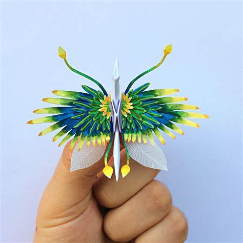 Origami Crane 1000 - cristian marianciuc creates a new decorated origami paper