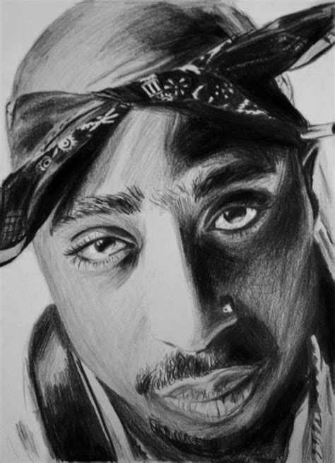 2Pac Zeichnung (Drawing) - YouTube