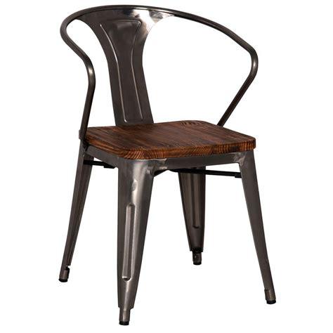 metro modern furniture metro modern gun metal arm chair eurway furniture