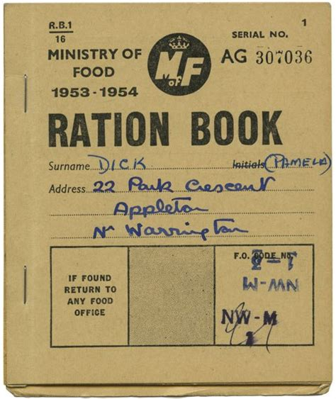 printable ration book template q a with alistair hall we made this the casual optimist